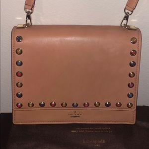 Kate Spade Sophie leather studded handbag